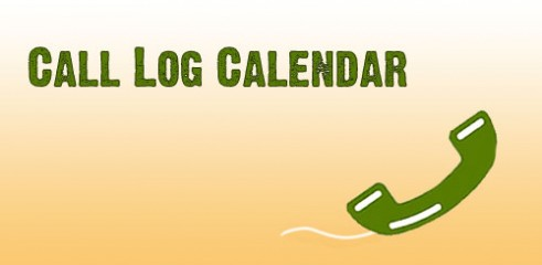 Call-Log-Calendar